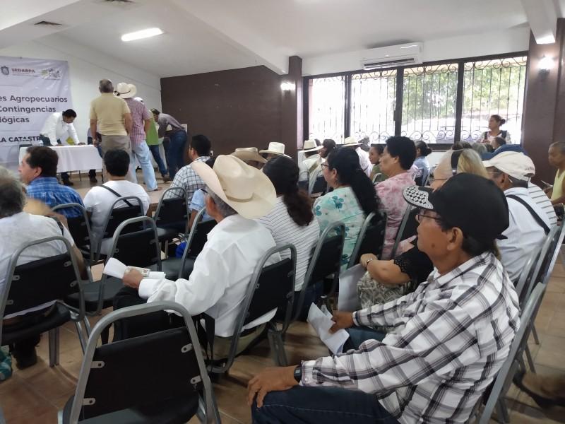 Entregan apoyos a productores agropecuarios