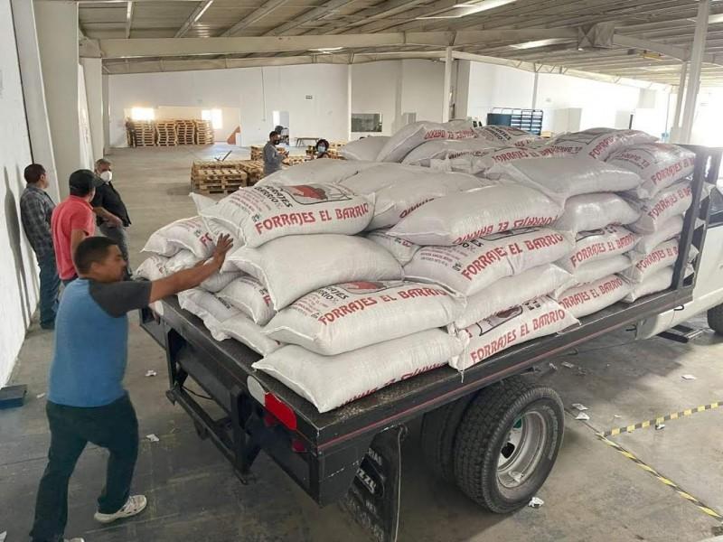 Entregan apoyos en zonas rurales de Nogales