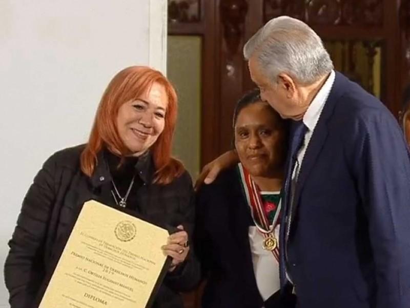 Entregan el Premio Nacional de Derechos Humanos