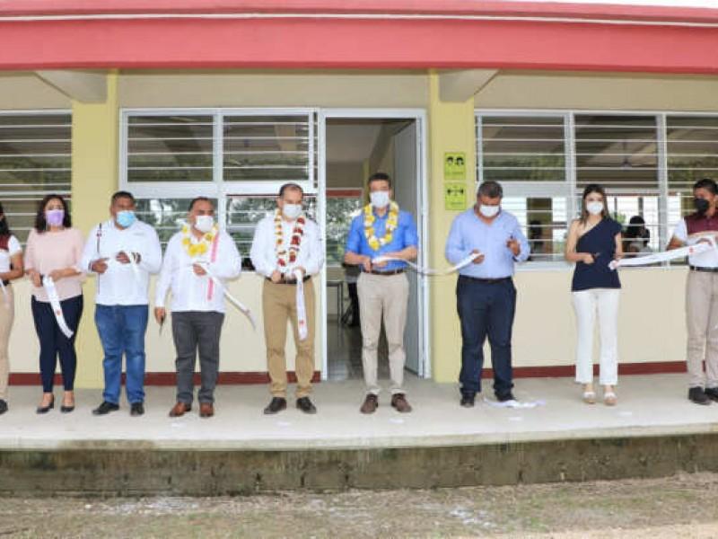 Entregan instalaciones del Cecyte en Acapetahua
