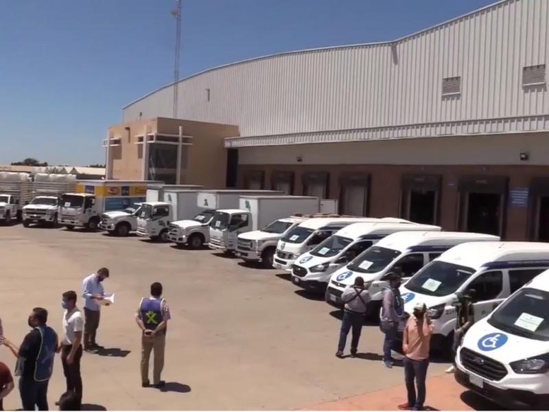 Entregan insumos médicos a hospitales de Sinaloa