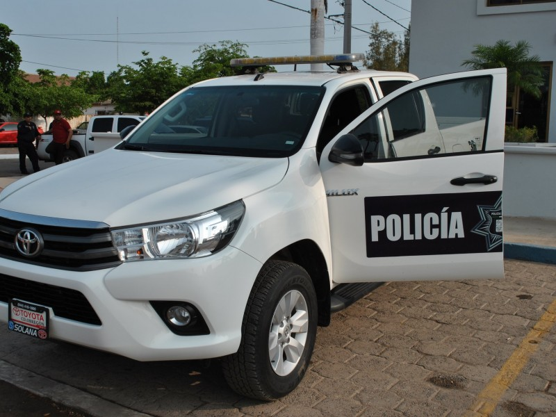 Entregan nueva patrulla a Seguridad Pública de Etchojoa