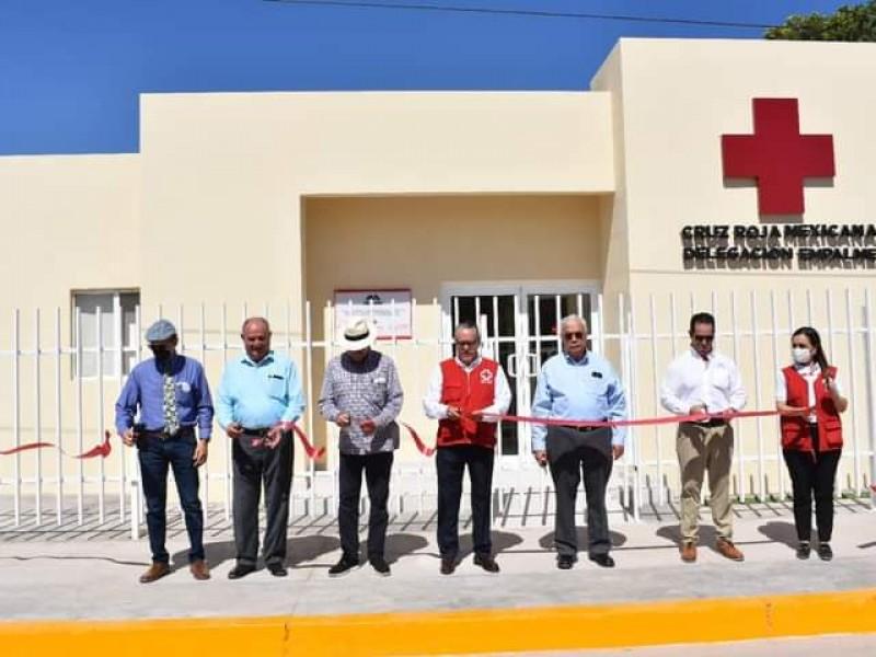 Entregan nuevas oficinas de Cruz Roja en Empalme