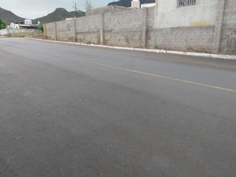 Entregan obras de pavimentación