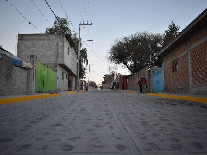 Entregan obras en Ajuchitlancito