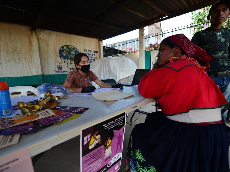 Entregan obras y apoyos frente al COVID-19 en región Norte