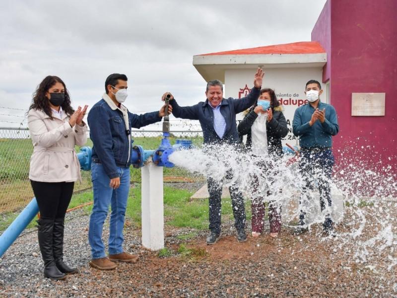 Entregan pozo de agua a la comunidad el Bordo