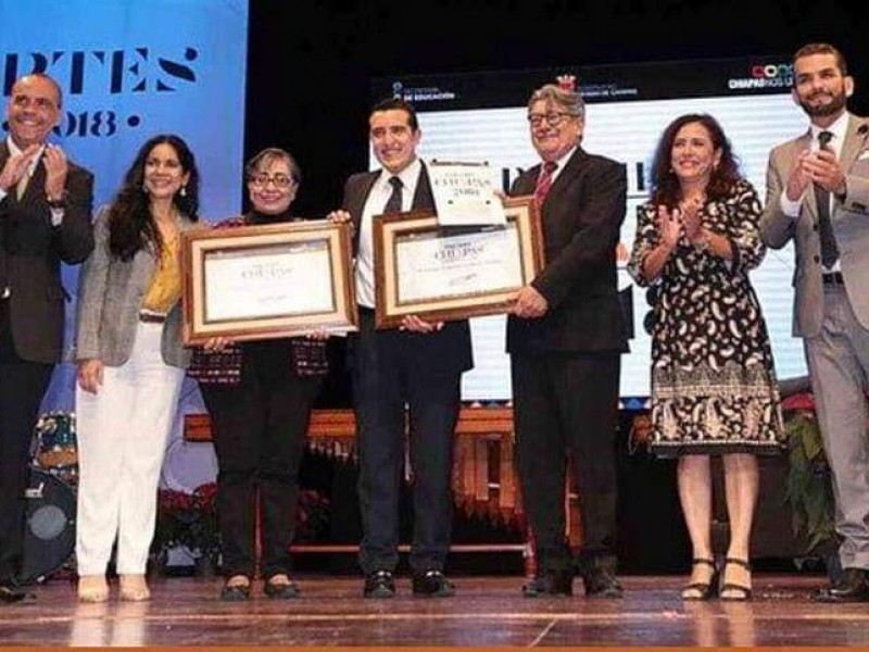 Entregan premio Chiapas