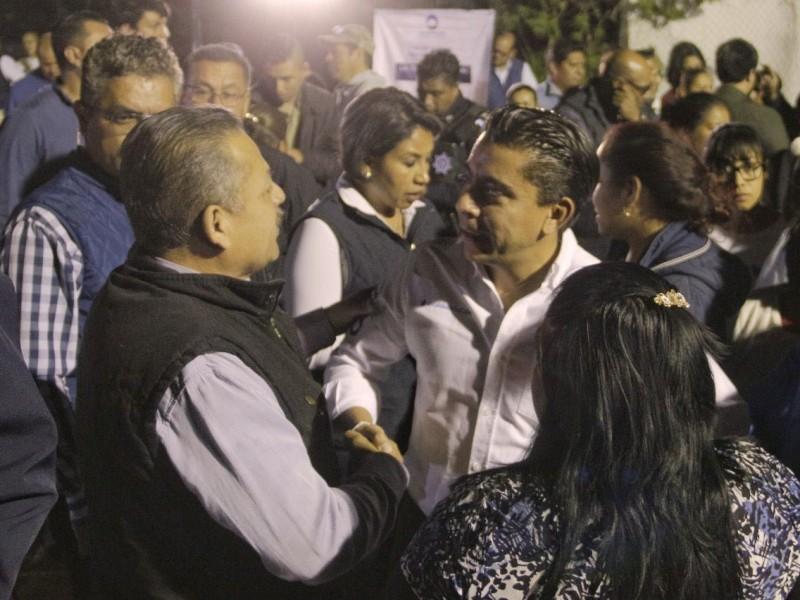 Entregan primera etapa de red de agua potable Corregidora