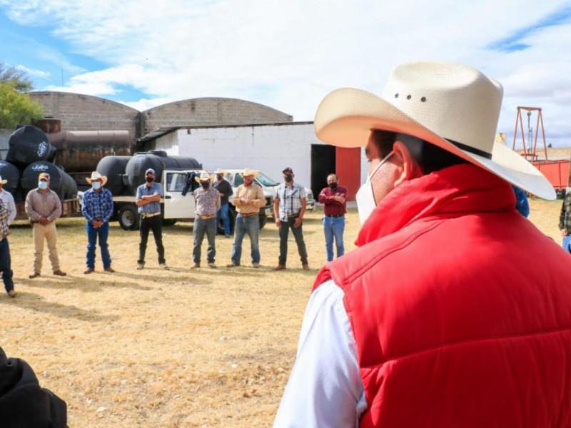 Entregan Seguro Agrícola Catastrófico por sequía en tres municipios