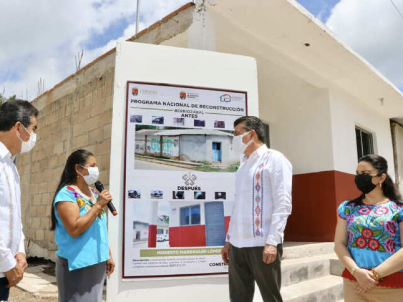 Entregan viviendas a afectados por sismo del 2017