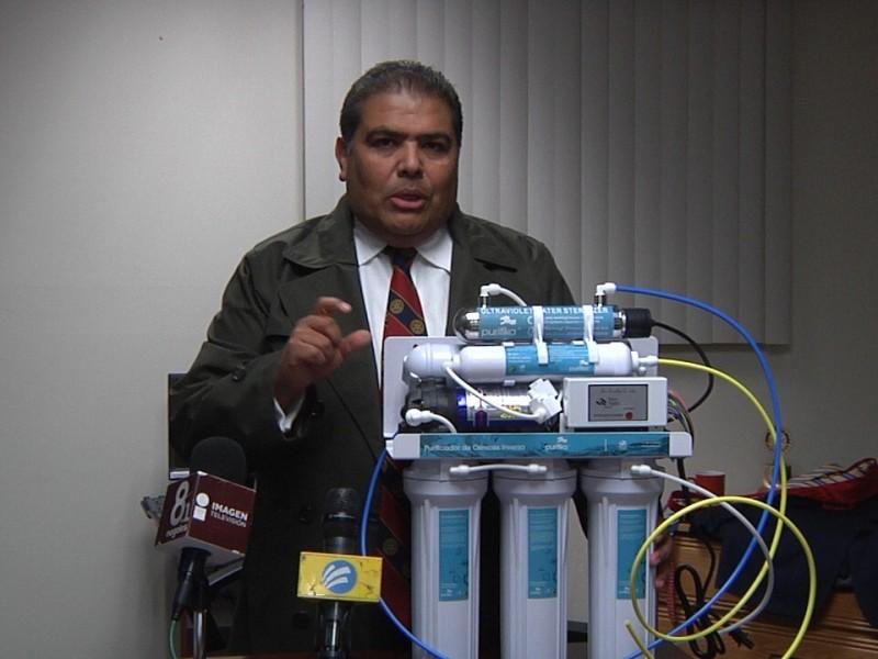 Entregara bebederos a escuelas Club Rotario Nogales A.C.