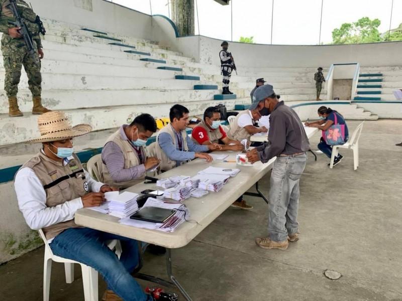 Entregaron apoyos a damnificados de Grace en Tuxpan