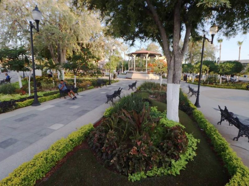 Entregaron el renovado Jardín Velasco