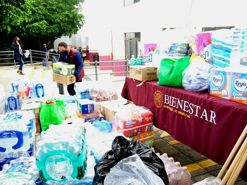 Envía Bienestar Querétaro ayuda ciudadana a las familias de Tula
