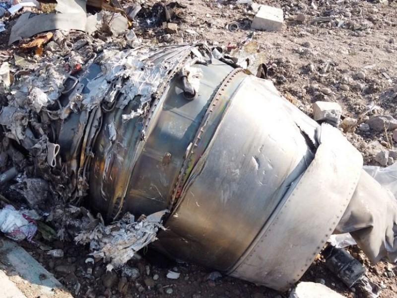 Enviará Irán a Ucrania cajas negras de avión