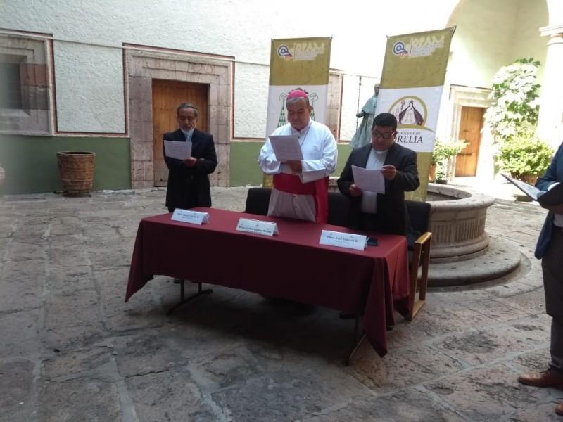 Episcopado espera formalidad para participar en Pacificación