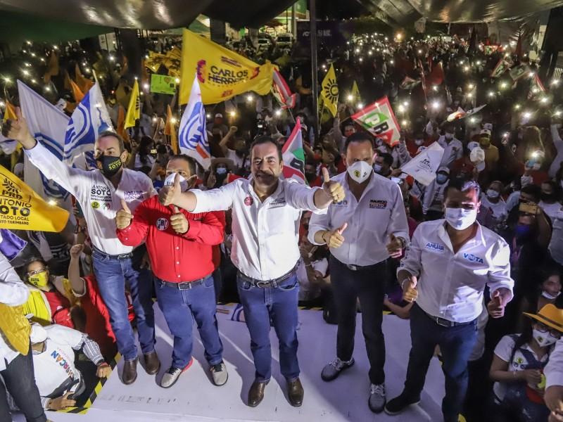 Equipo por Michoacán impugnará elección por 100 mil votos