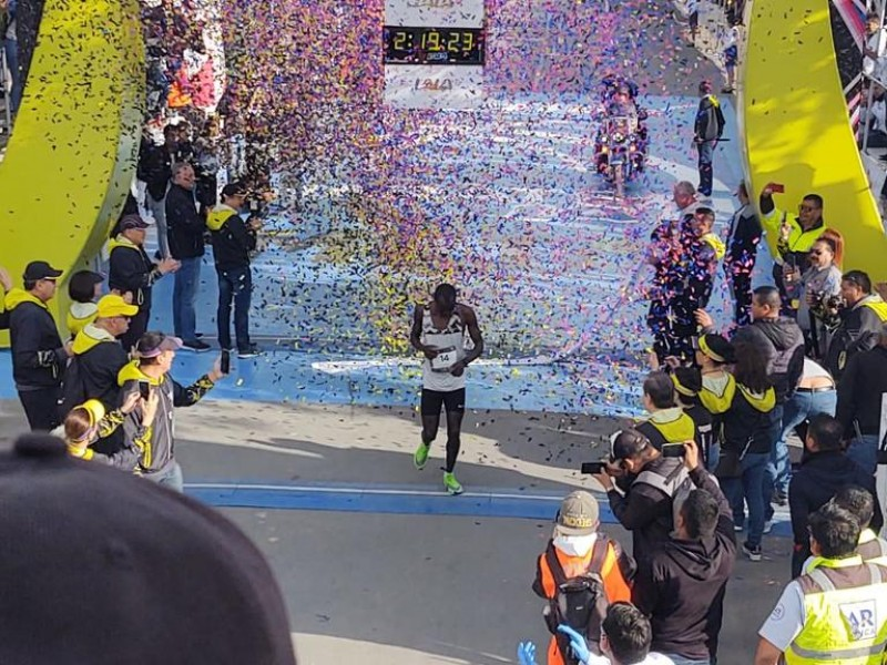 Erick Mose el triunfador del Maratón LALA 2020