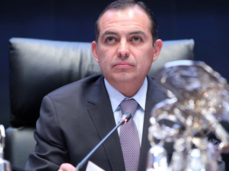Ernesto Cordero presenta en PGR denuncia contra Anaya