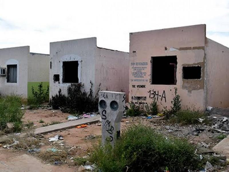 Es el norponiente de Hermosillo con más casas abandonadas