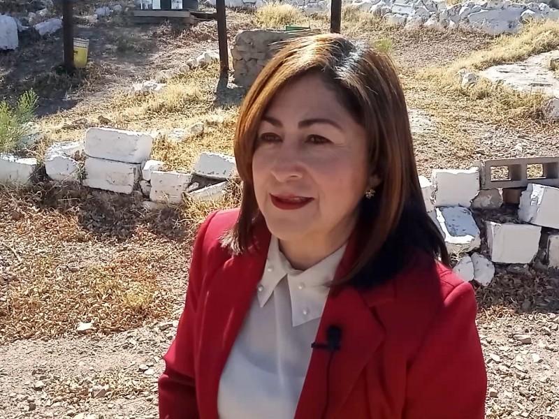 Es Norma Alva, periodista destacada en la frontera