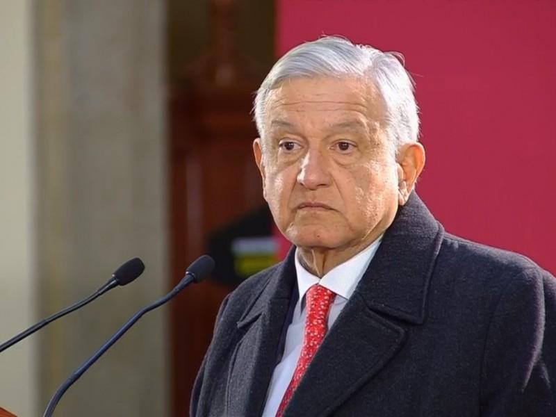 """""""Hoy es un día especial, de luto nacional"""":AMLO"""