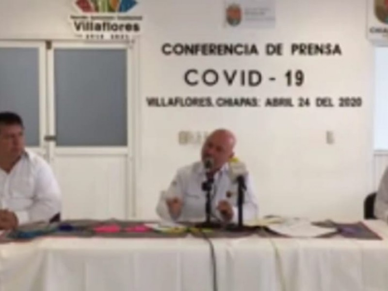Escala Covid-19 a 103 casos en Chiapas