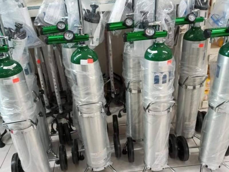 Escasean tanques de oxígeno en Nayarit desde hace una semana
