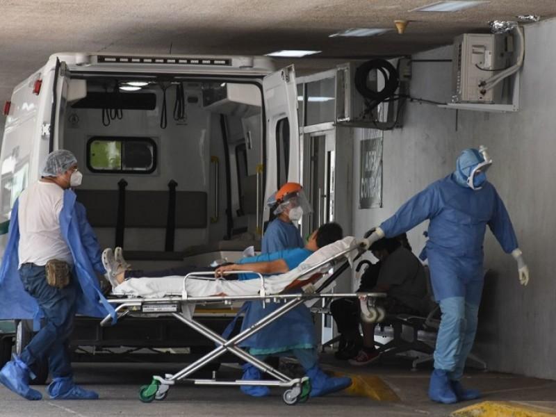Escasez de camas disponibles para COVID 19 en hospitales privados
