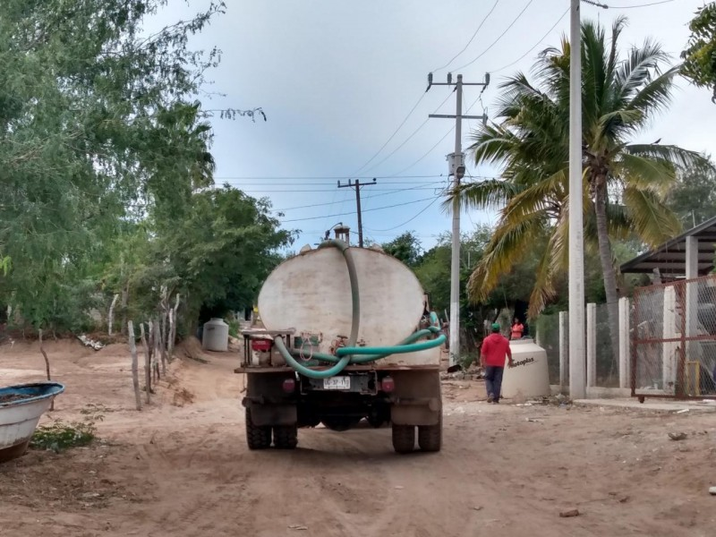 Escasez de agua una realidad en Ahome