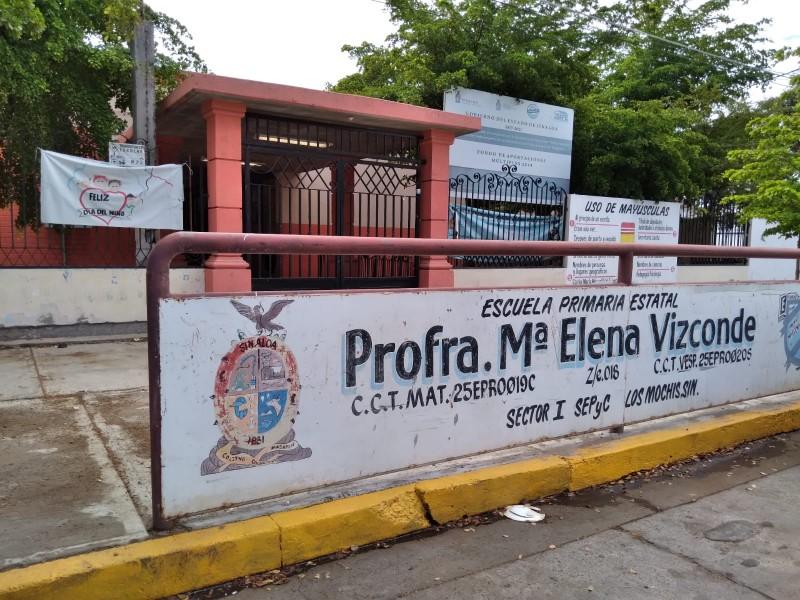 Escuela María Elena Vizconde sin condiciones para regresar a clases