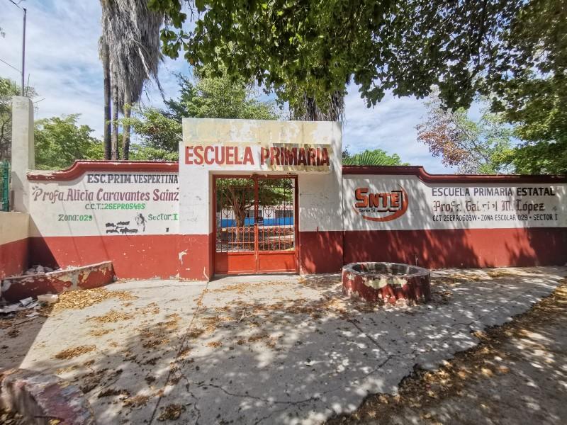 Escuela Profesor Gabriel M. López la más golpeada por vandalismo