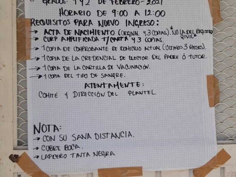Escuelas abusan, aún con pandemia cobran cuotas