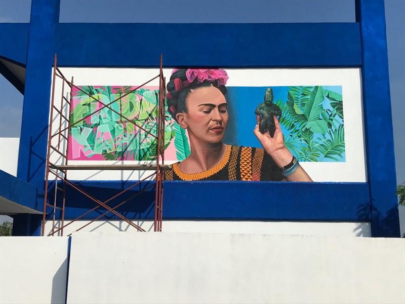 Escuelas olvidan legado de crear murales en paredes