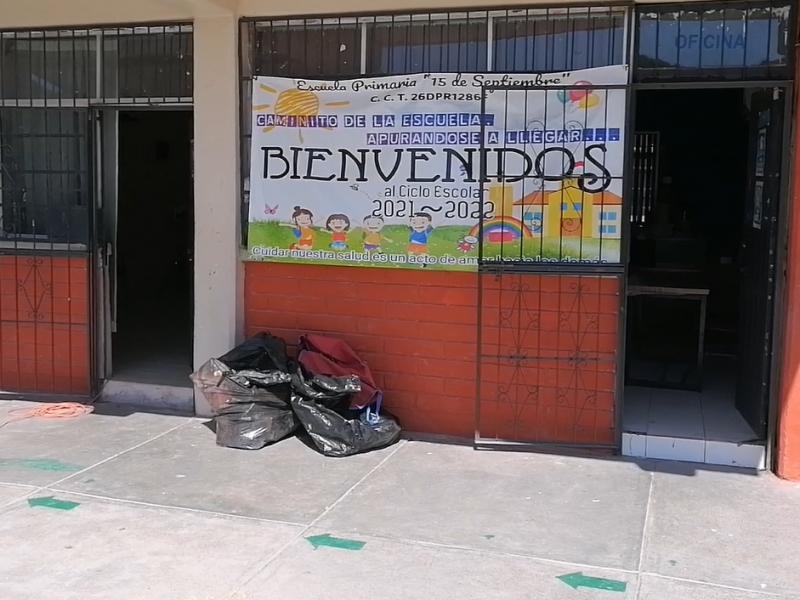 Escuelas publicas de la región presentan daños