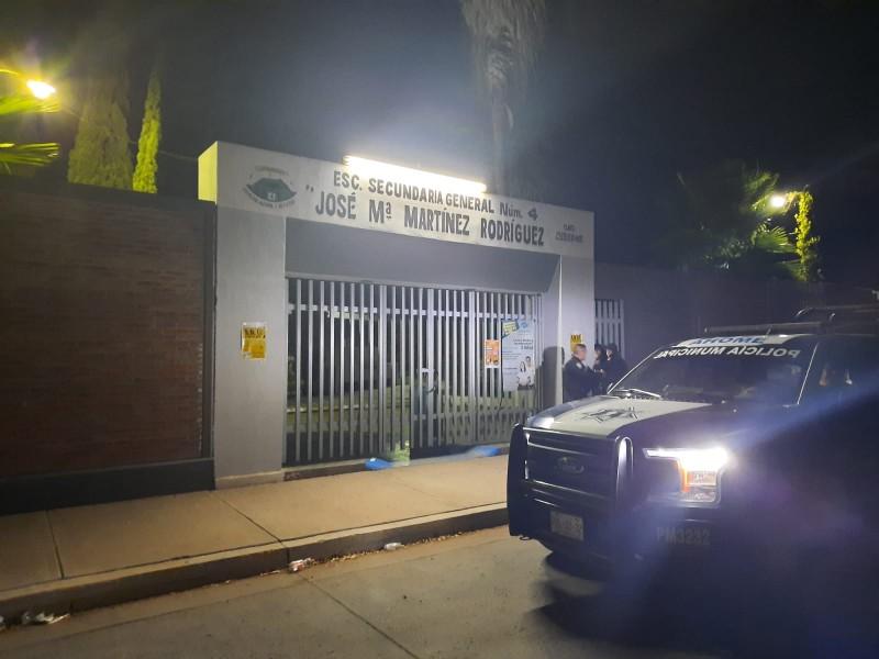 Bajan robos en escuelas de Ahome