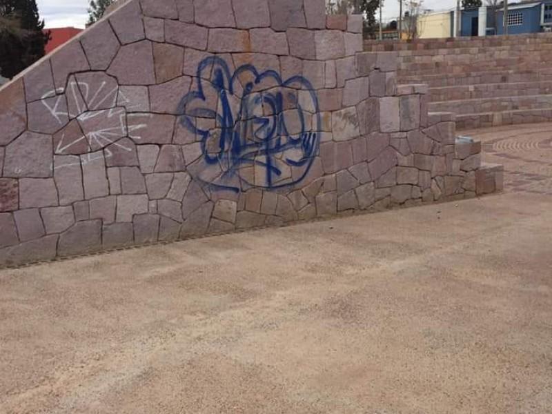 Espacios públicos de Guadalupe en pésimas condiciones