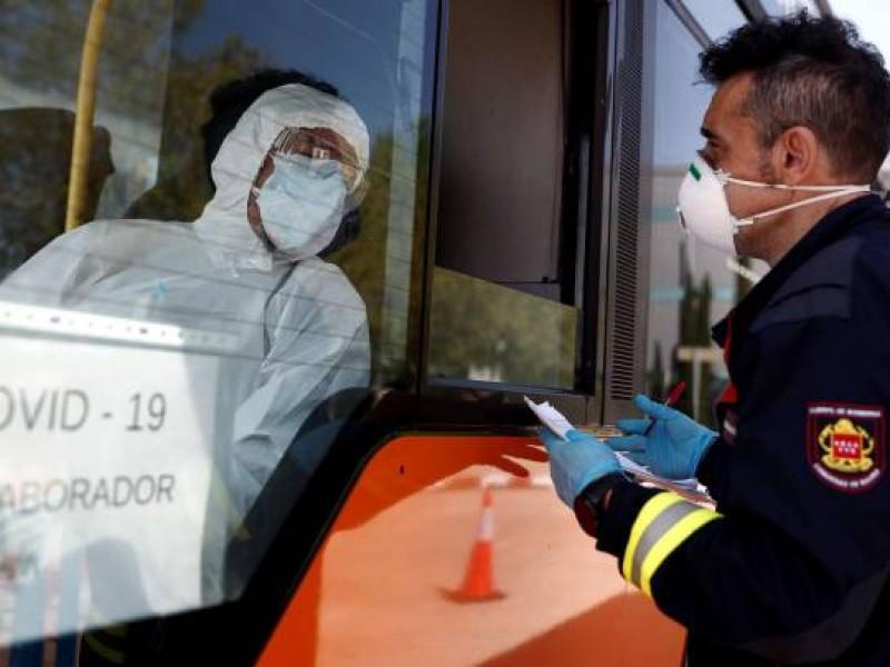 España registra pequeño repunte de muertes por coronavirus