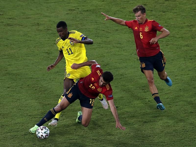 España - Suecia primer juego sin goles en Eurocopa