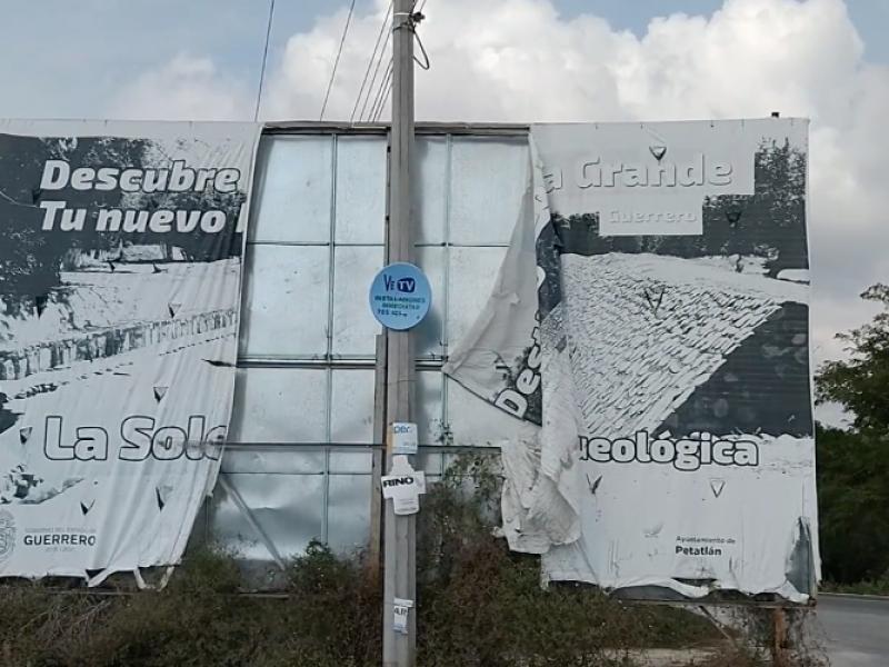 Espectaculares turísticos de la Costa Grande están deteriorados