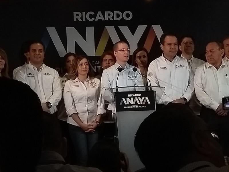Espera Ricardo Anaya sostener reunión con Margarita Zavala