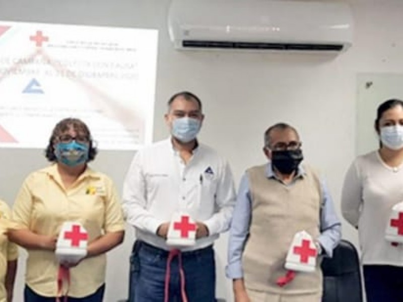 Esperan cumplir meta de colecta: Cruz Roja