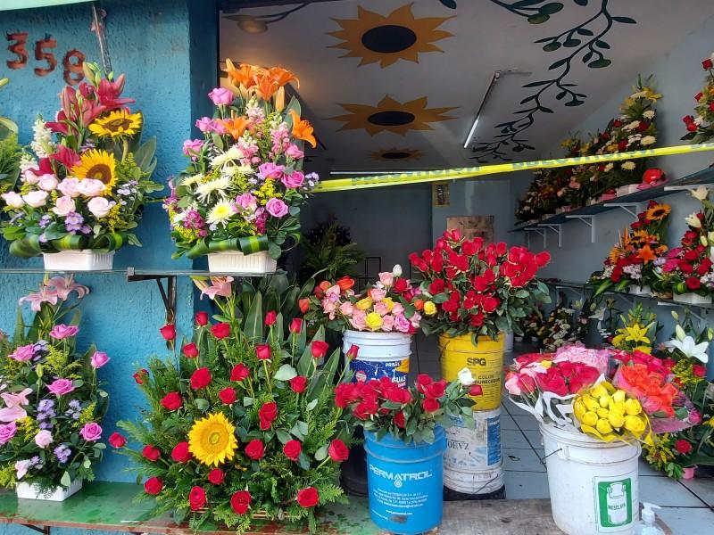 Esperan floristas nayaritas repunte del 70% durante 10 de mayo