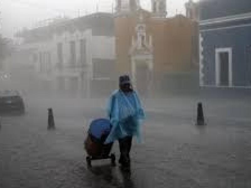 Esperan fuertes lluvias para Puebla durante el fin de semana