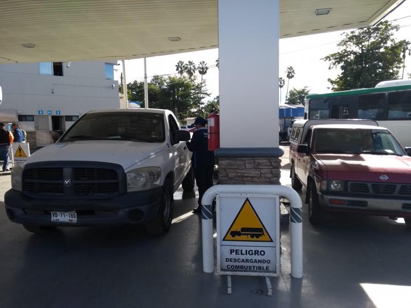 esperan no lleguen a sonora falta de combustible