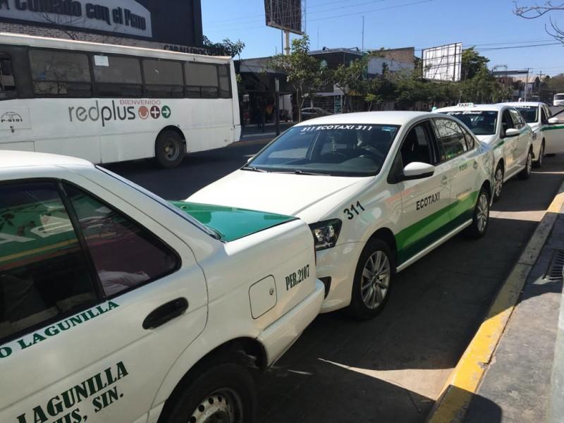 Esperan taxistas incremento en demanda de servicios por semana santa