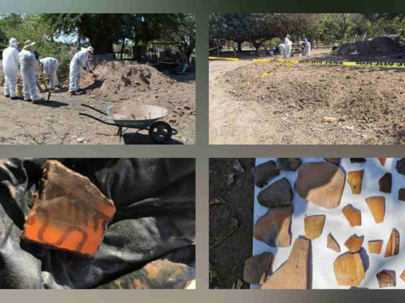 Esqueleto encontrado en Tecuala tiene más de mil años