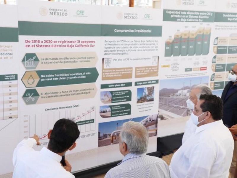 Esta Garantizada la generación eléctrica de BCS y del país