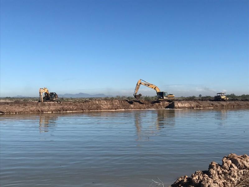 Esta próxima semana iniciarán trabajos segunda etapa desviación Dren Juárez